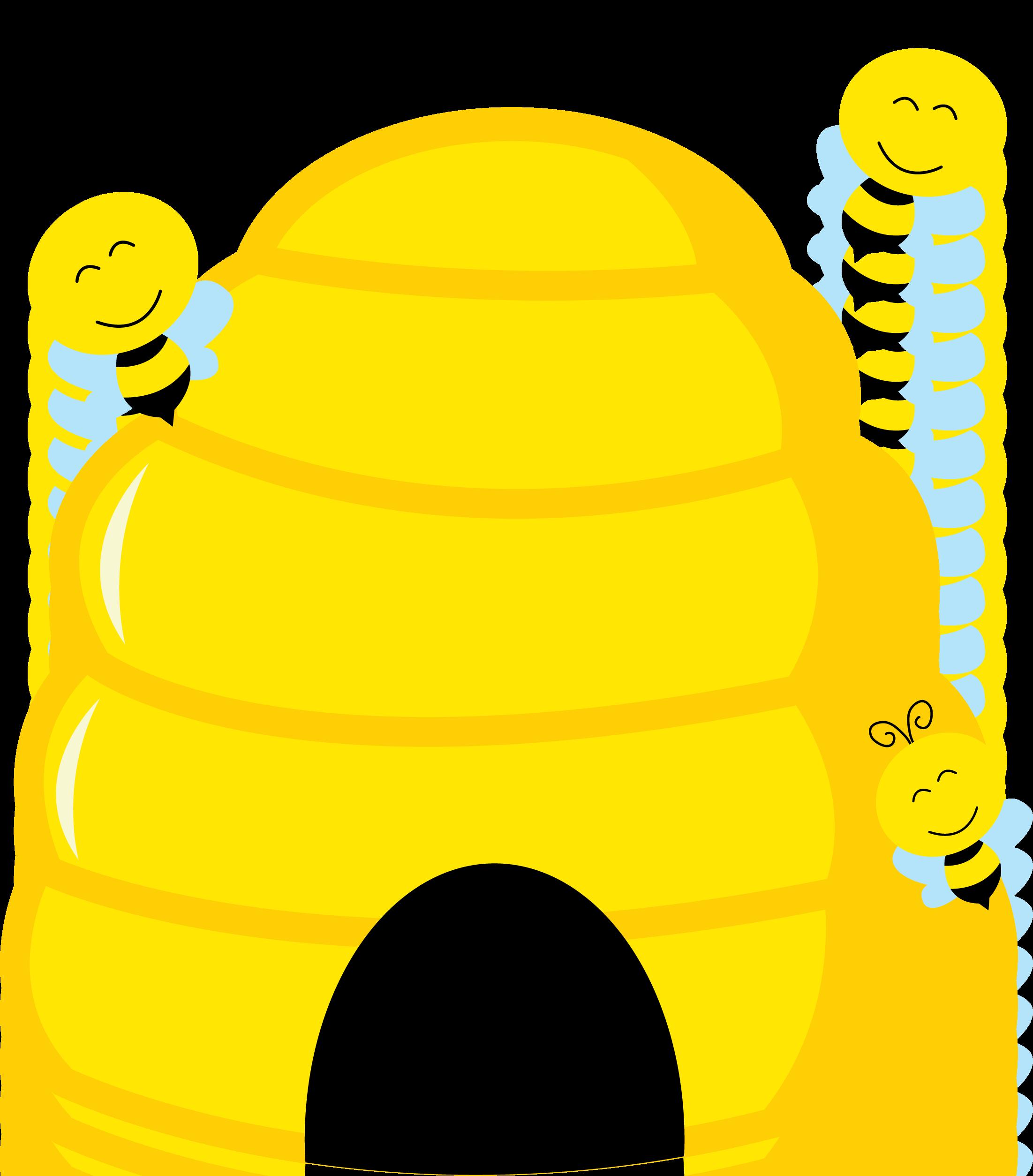 Bee clipart beehive. Imagens da abelhinha bees