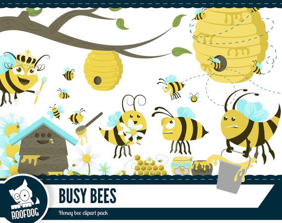 Honey busy clip art. Bee clipart printable