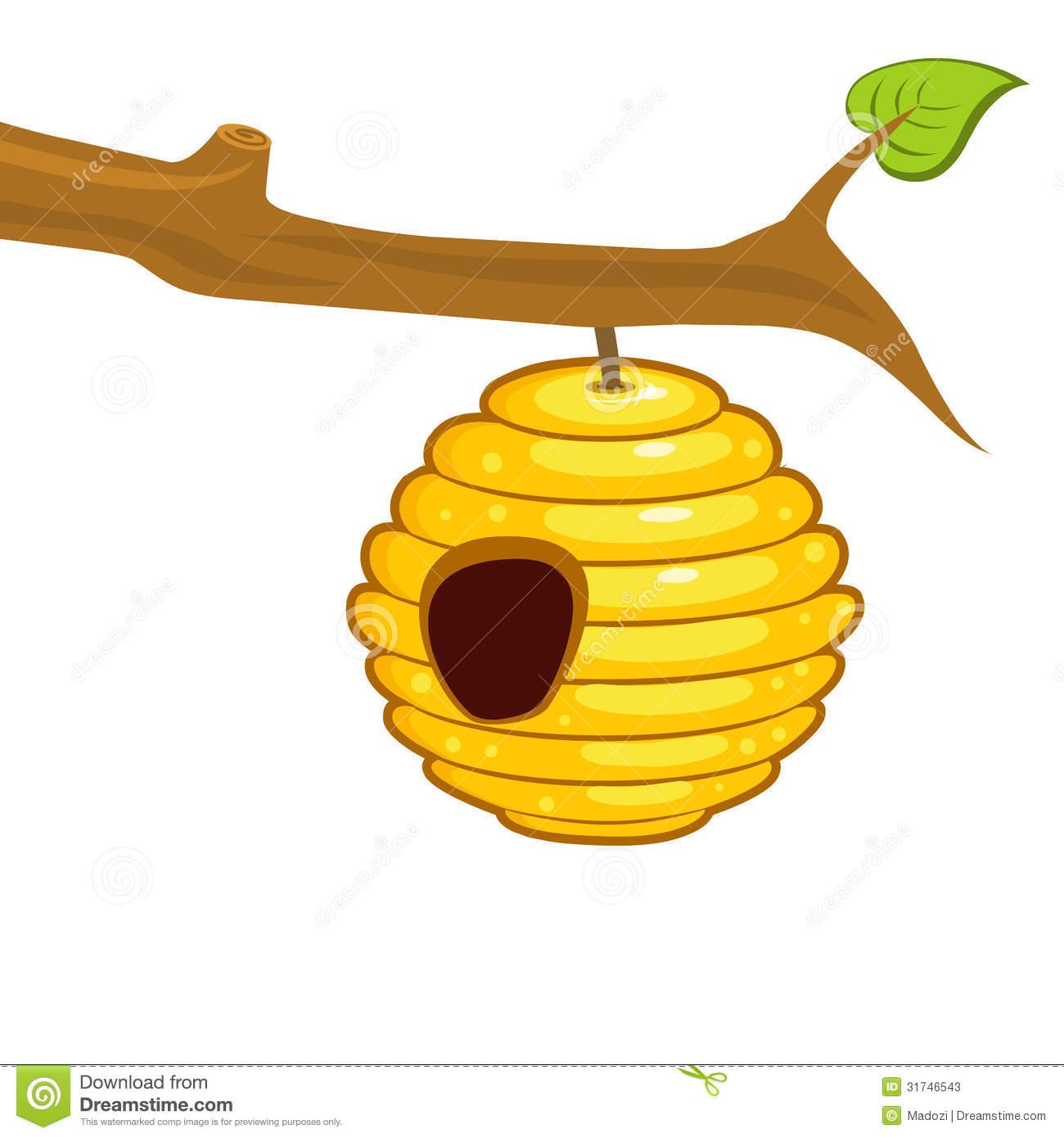 Beehive clipart clip art.  bee hive clipartlook