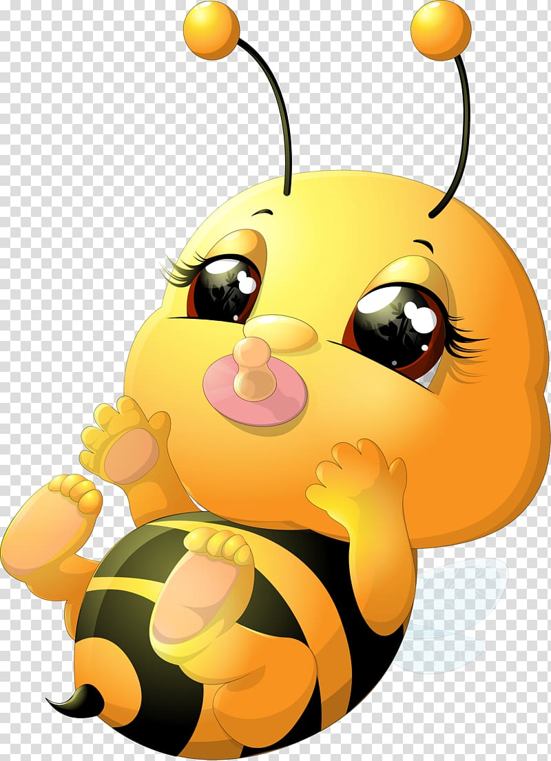 With pacifier illustration beehive. Bumblebee clipart baby bumblebee