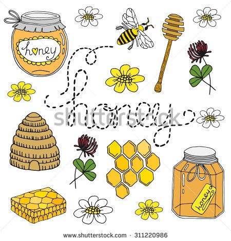 best bee images. Beehive clipart drawn