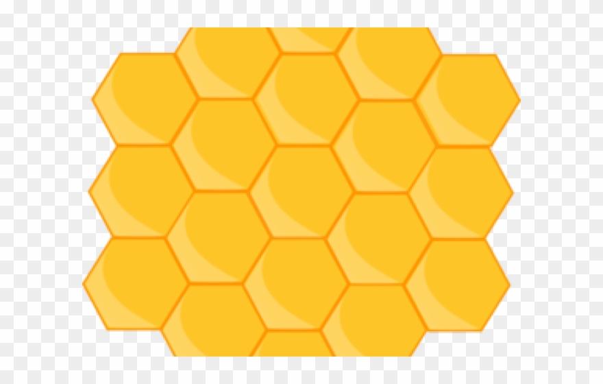 Beehive png download . Honeycomb clipart hexagon