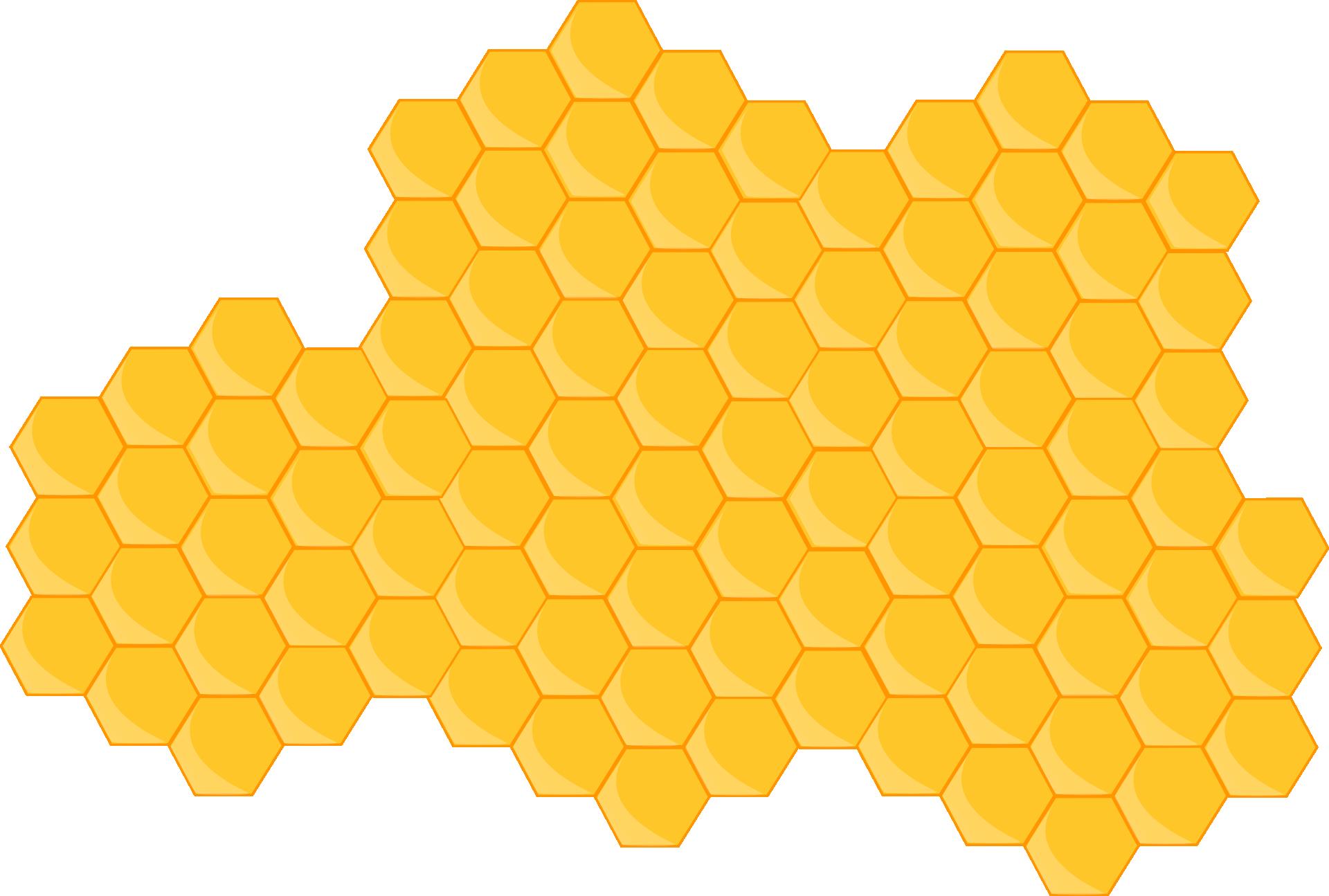 Clip art honey png. Honeycomb clipart beehive shape
