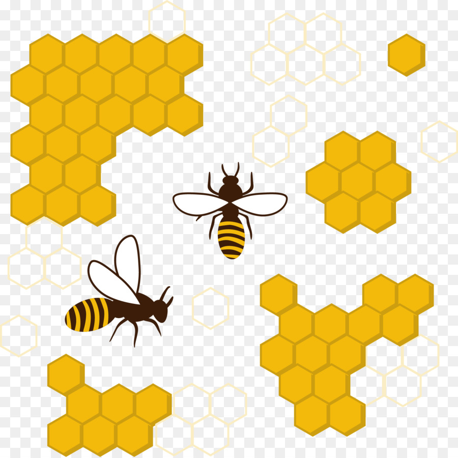 Honeycomb clipart clip art. Bee background beehive illustration