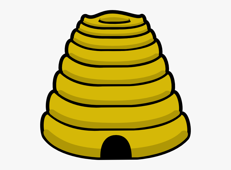 Beehive clipart hornet nest. Of colony and bee