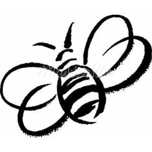 A black and white. Beehive clipart sketch
