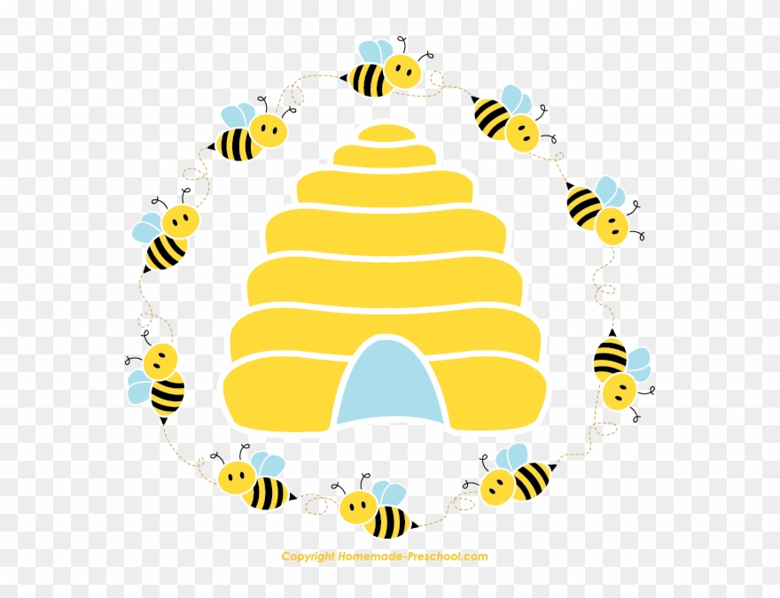 Beehive clipart tree clipart. Click to save image