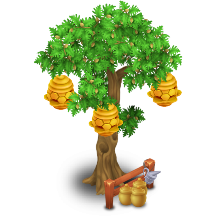 Beehive clipart tree clipart. Image stage png hay
