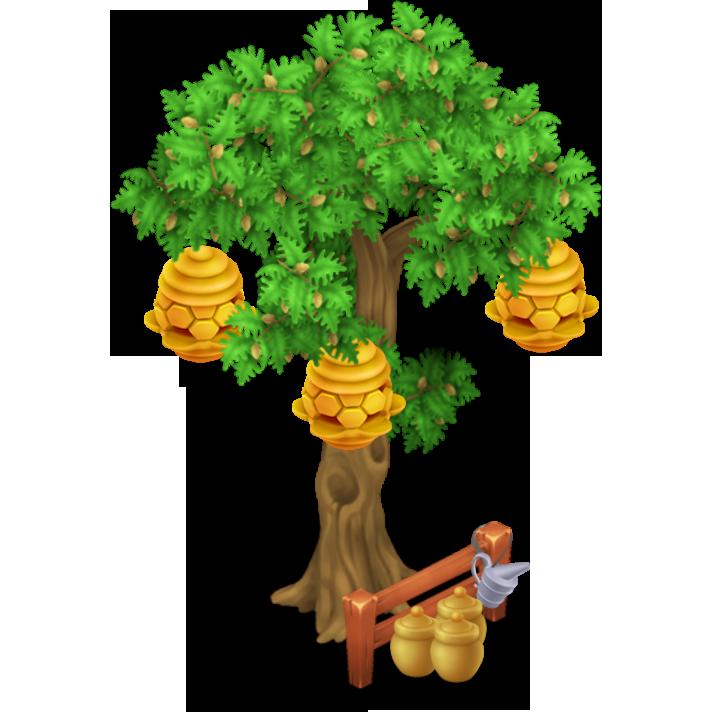 Honeycomb clipart honeybee hive. Image beehive tree stage