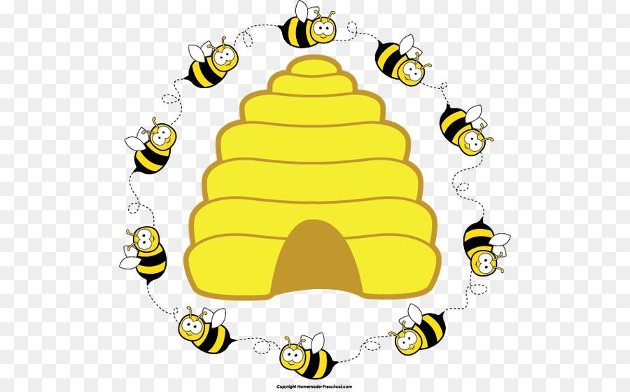 Honey bee clip art. Beehive clipart tree clipart