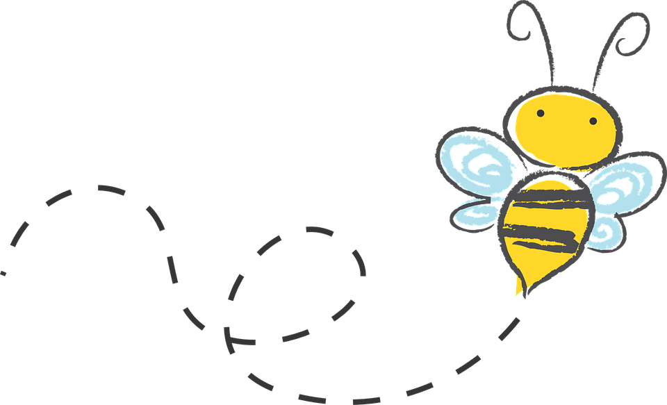 Frames clipart bee. Free image on pixabay