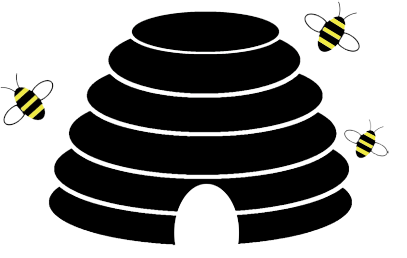 Beehive clipart wasp nest. Action bee removal of