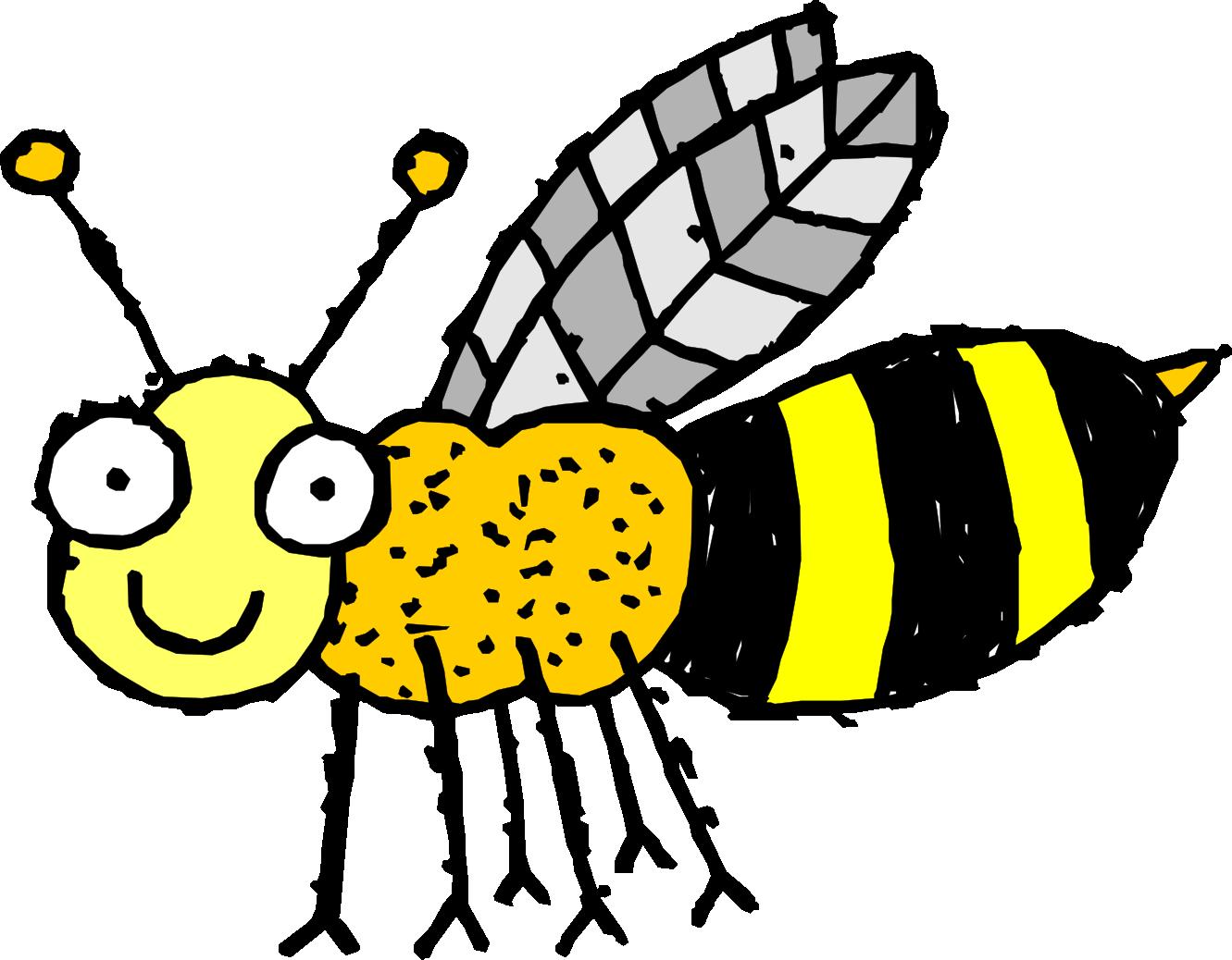 Dig clipart verb. Bee free clip art