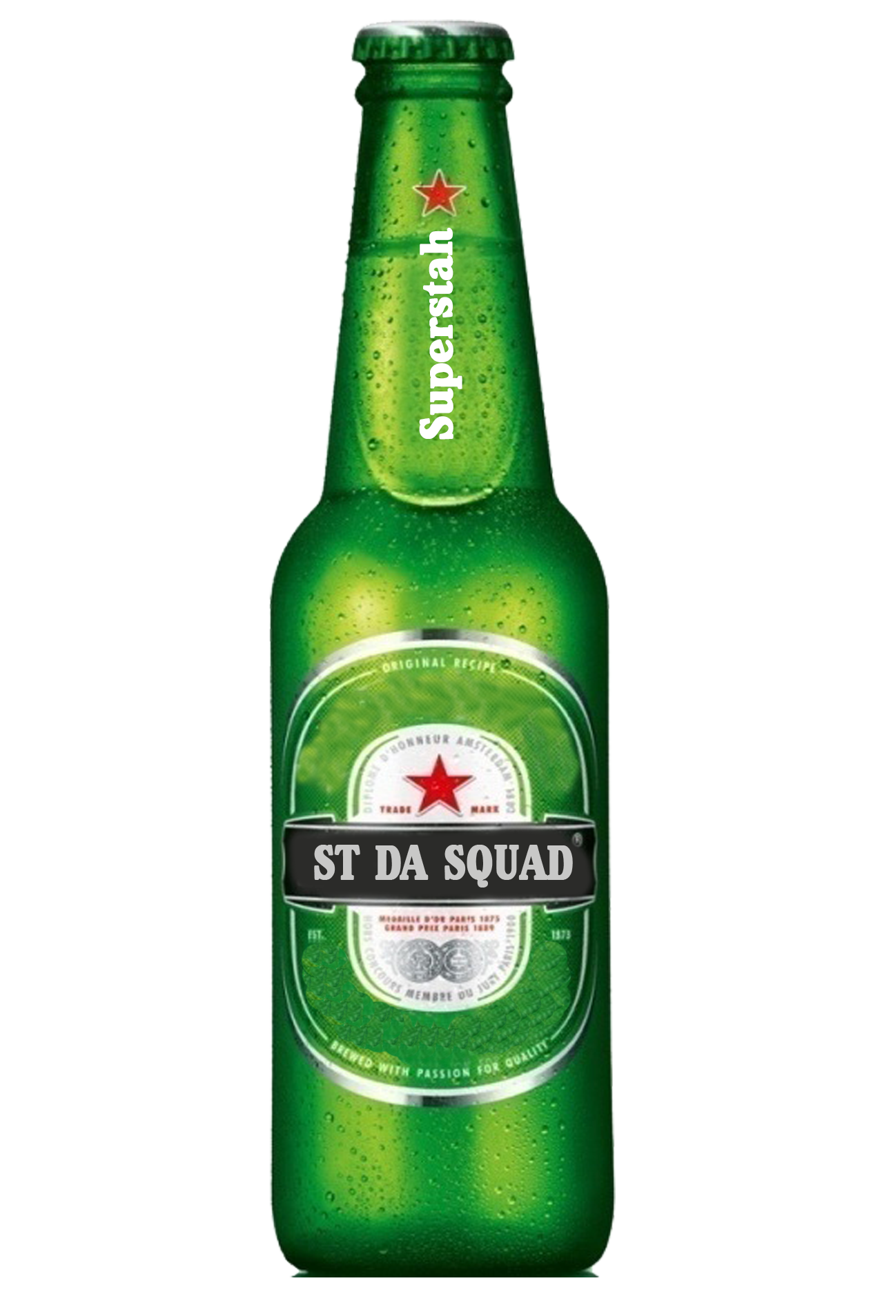 Beer bottle clipart png. Four isolated stock photo