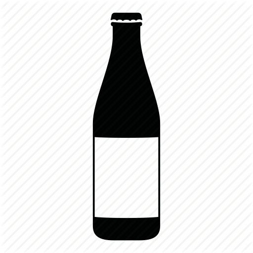 Bottles and jars by. Beer bottle icon png