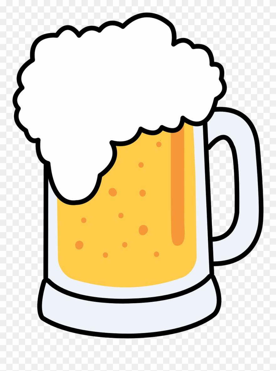 Beer clipart. Free cartoon mug clip