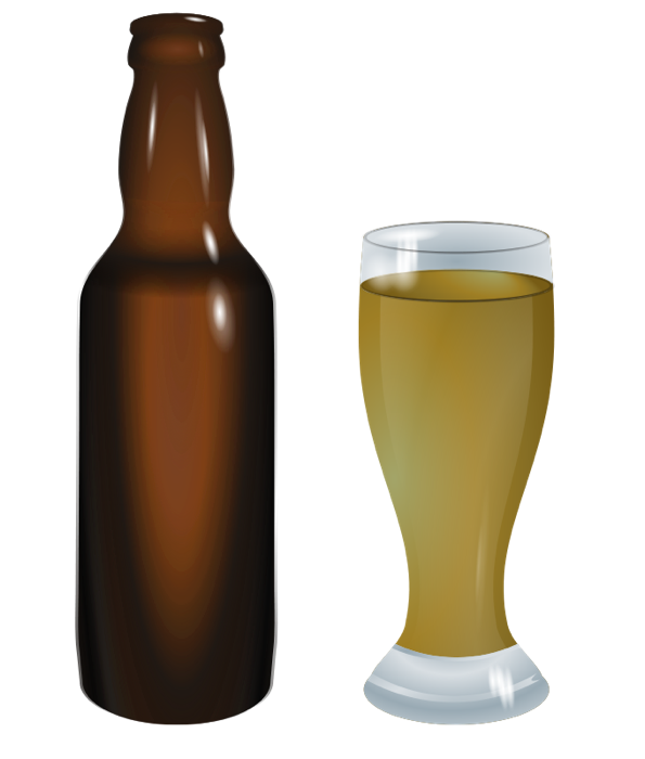 Glasses clipart pint glass. Of beer wine martinis