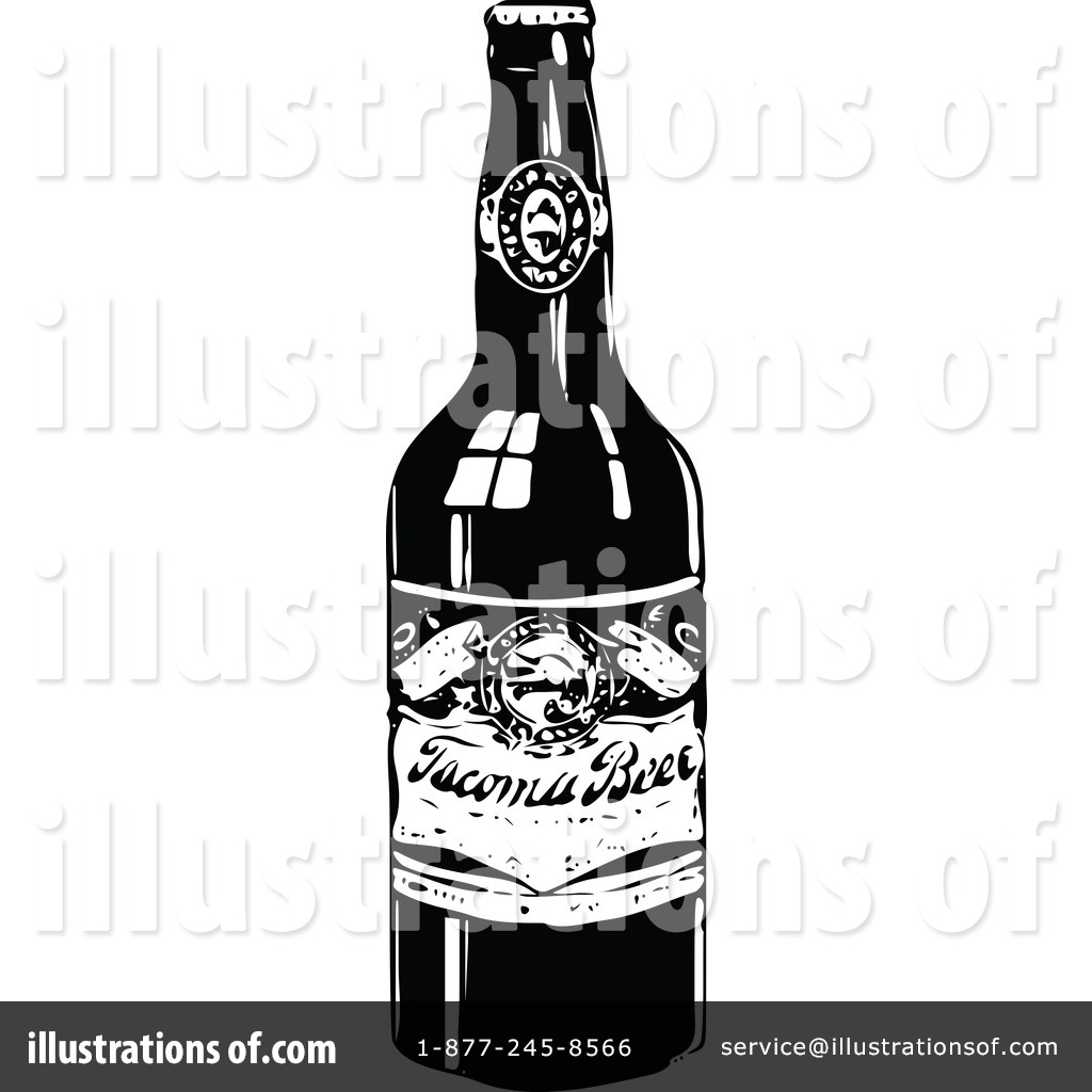 Beer clipart alcoholic drink. Illustration by prawny vintage