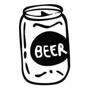 Beer clipart beer can. Voucher grantsburg snowmobile watercross