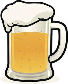Mug drawings google search. Chalk clipart beer