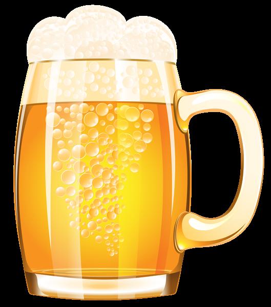 Mug of png vector. Clipart beer alcahol