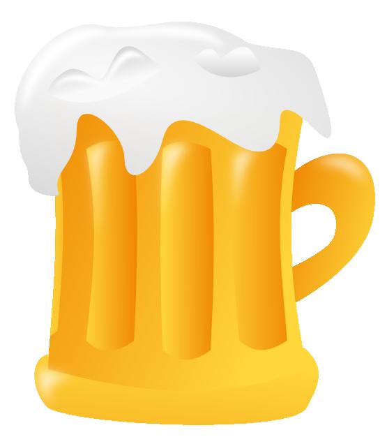 Free beer mug clip. Drink clipart potable water
