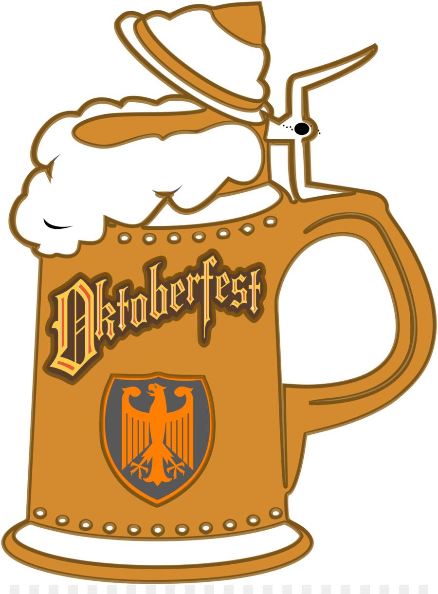 Beer stein oktoberfest cuisine. German clipart