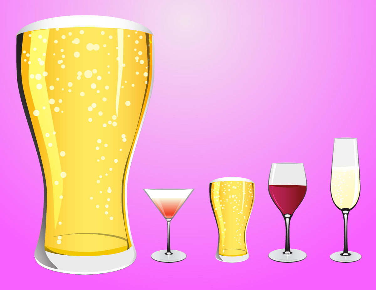 And glasses alcohol drinks. Beer clipart beer wine