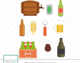 Etsy keg vector graphics. Beer clipart beer wine