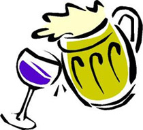 Beer clipart beer wine. Comparing the price of
