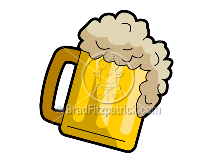 Beer clipart cartoon. Picture royalty free mug