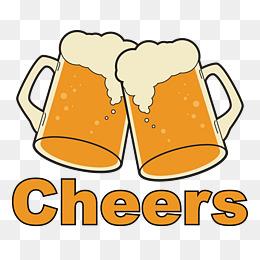 Beer clipart cheer. Cheers png vectors psd