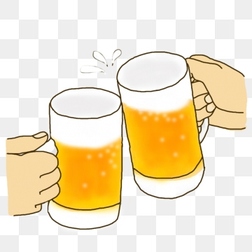 Cheers png vectors psd. Beer clipart cheer