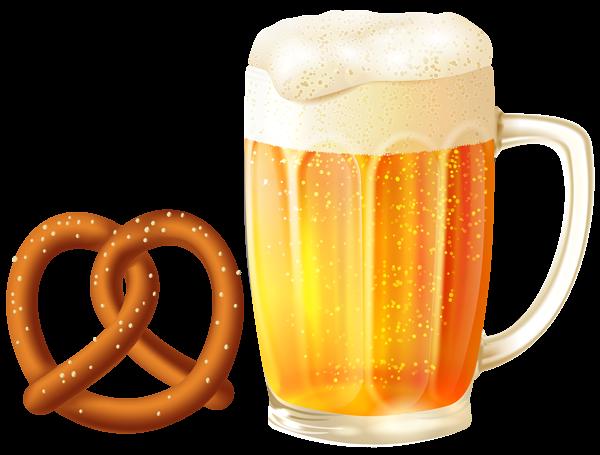 Beer mug and png. Pretzel clipart