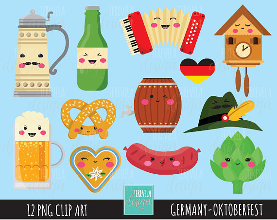 Beer clipart cute.  sale germany octoberfest