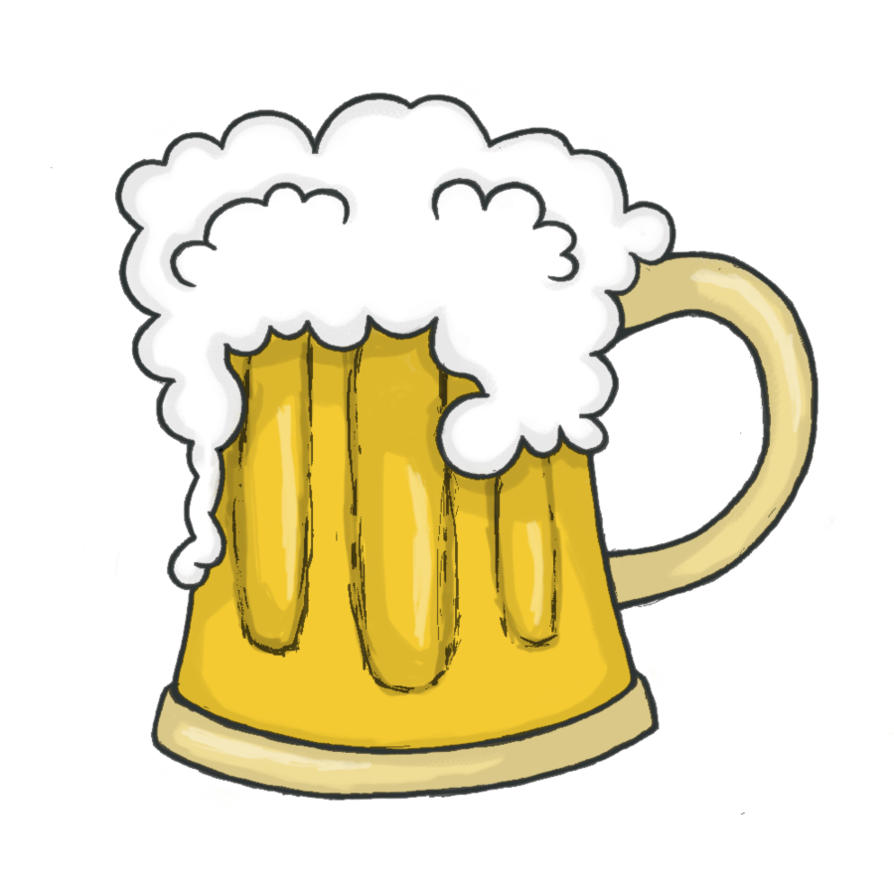 collection of beer. Missions clipart background