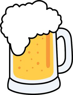 Mug drawings google search. Beer clipart drawing