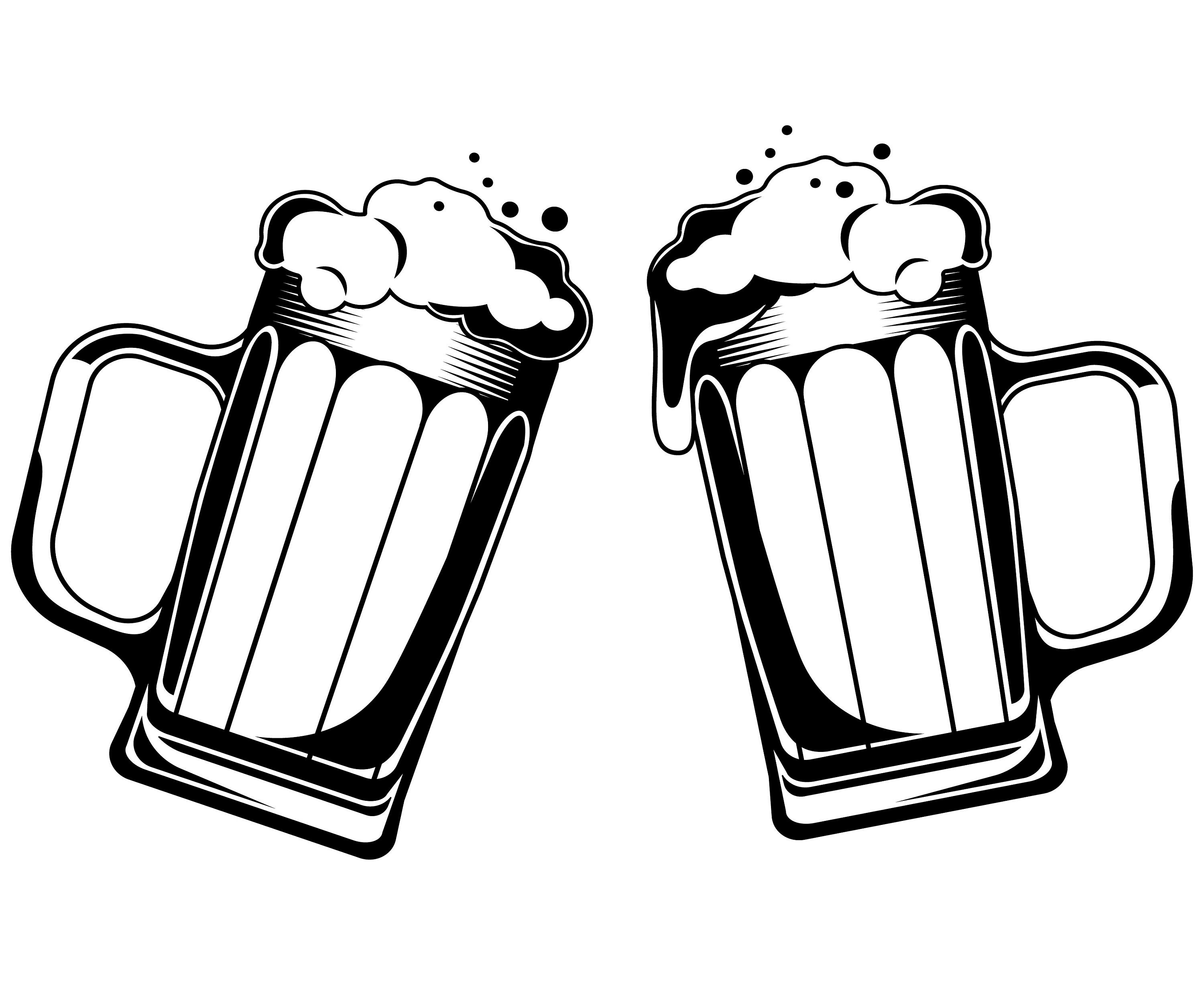 Beer clipart drawing. Glass free download best