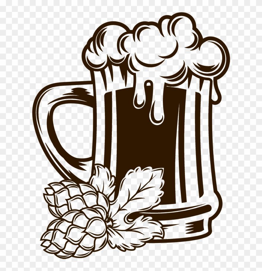 Beer clipart drawing. Mug at getdrawings com