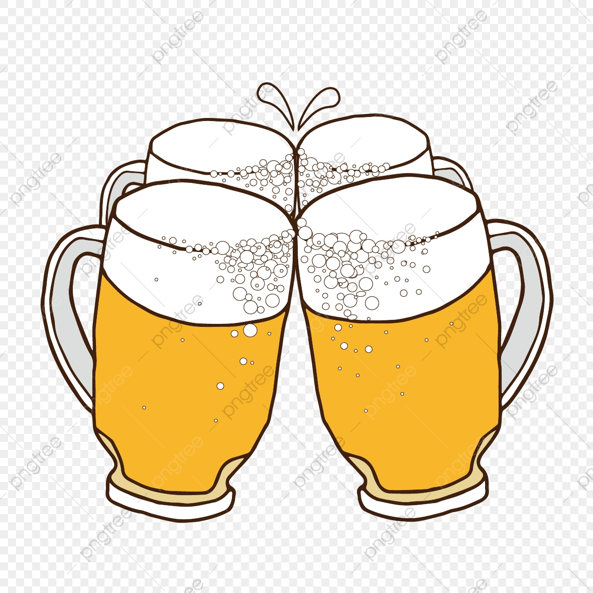 Beer clipart file. Free image buckle clink