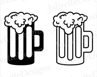 Beer clipart file. Svg etsy root mug