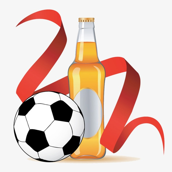 Beer clipart football. Colored ribbon png image