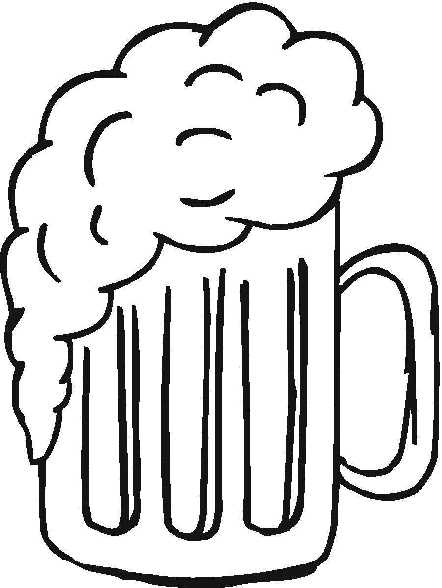 Beer clipart football. Free mug image download
