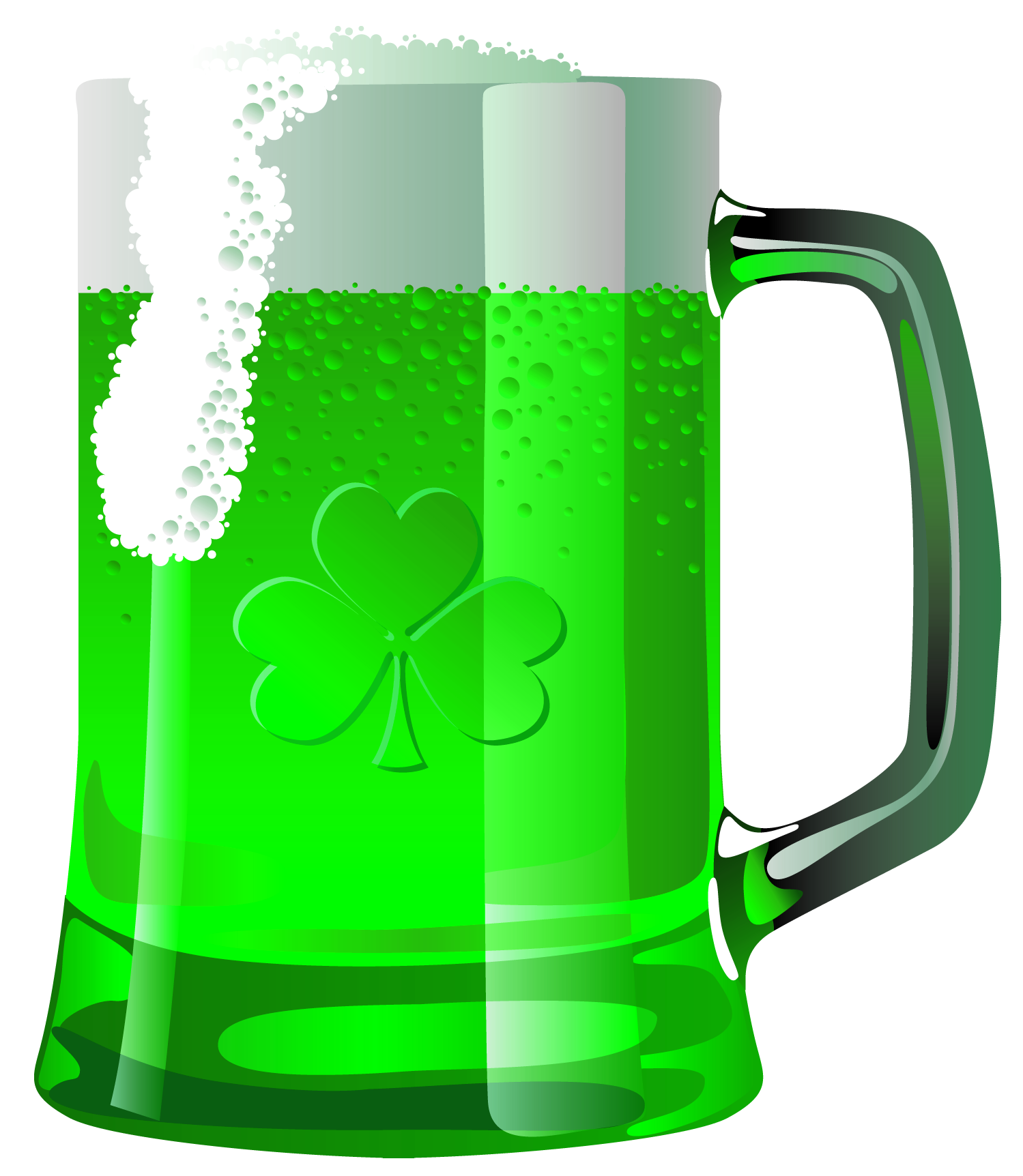 Transparent saint patrick green. Beer clipart frame
