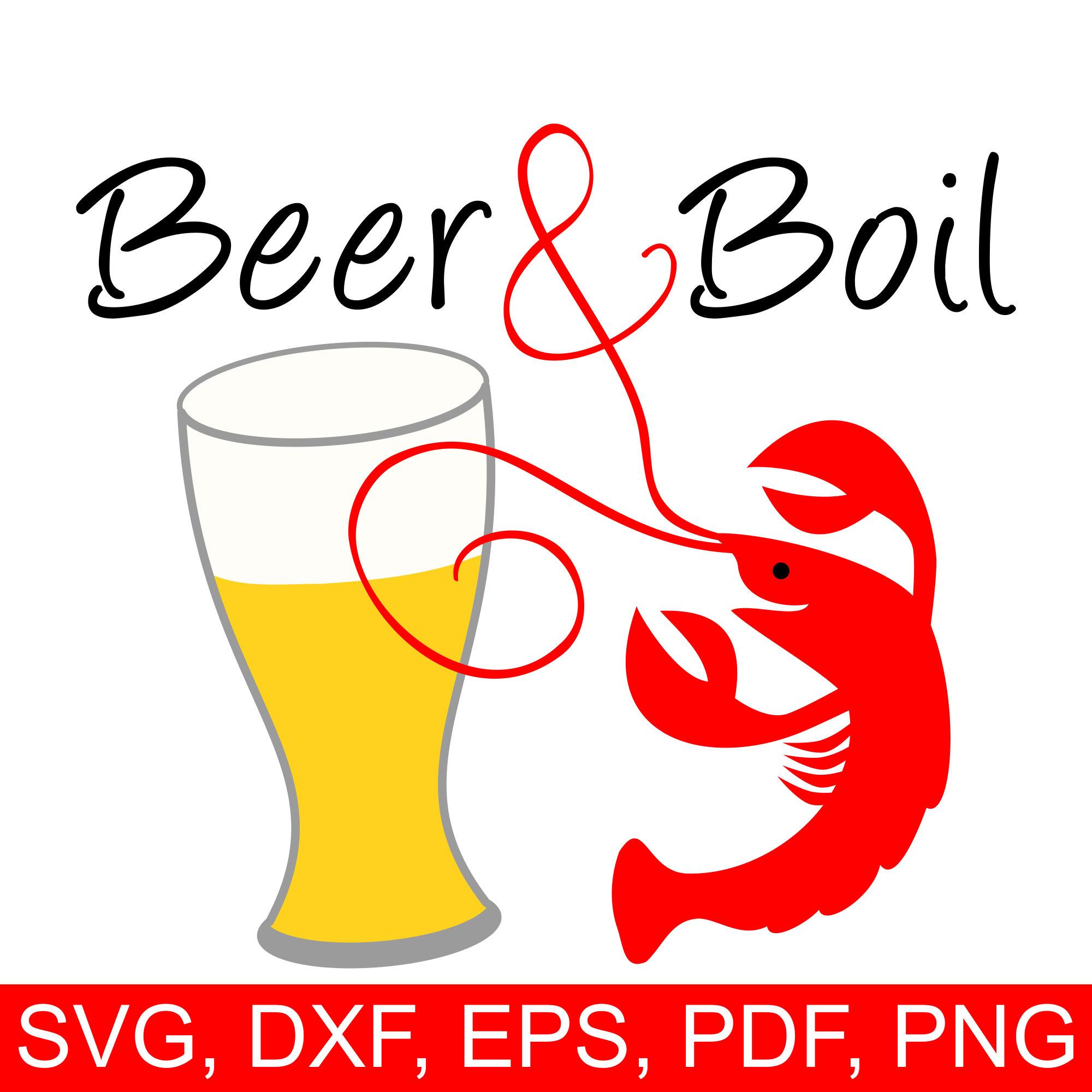 Boil svg file a. Crawfish clipart beer