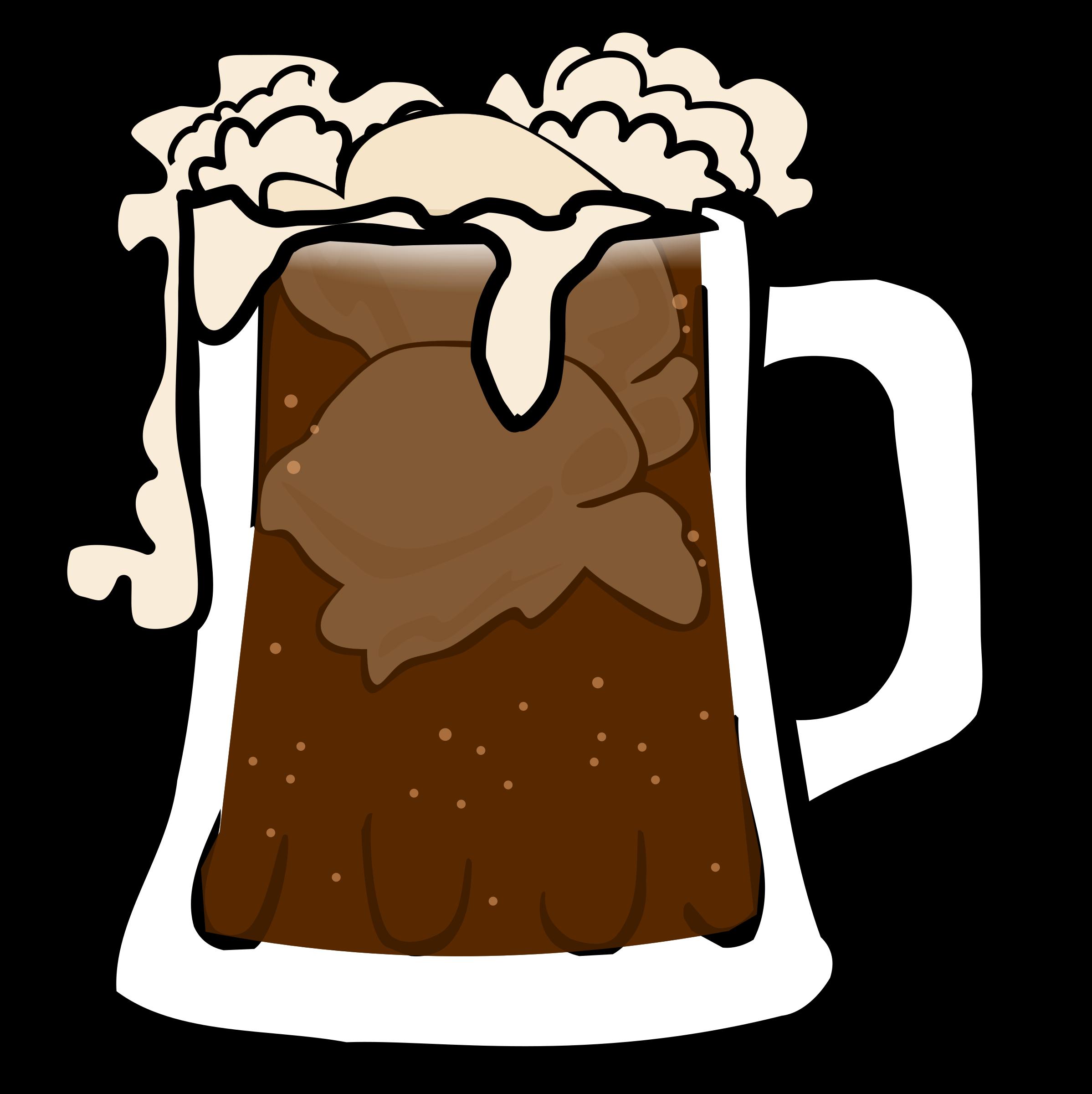 Root beer float icons. Taste clipart disgust
