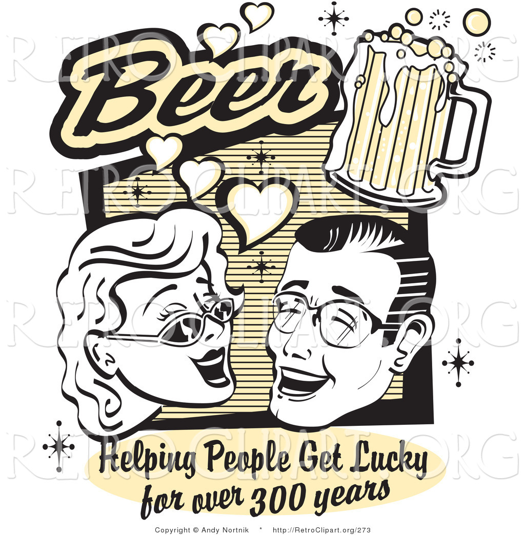 Free drinking clipartmansion com. Beer clipart retro