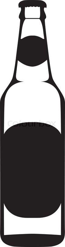 Beer clipart silhouette. Image result for bottle