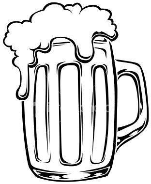 Chalk clipart beer. Mug drawings google search
