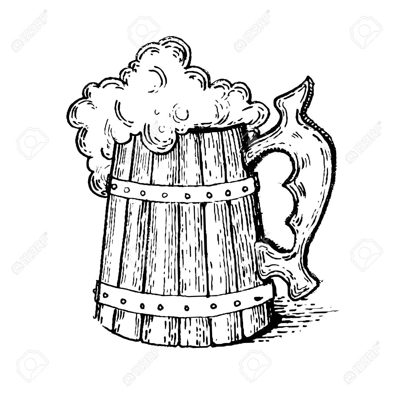 Drawing at getdrawings com. Beer clipart sketch